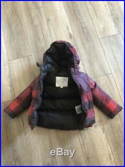 Burberry Children Showerproof Puffer Jacket (Burgundy) 2 years