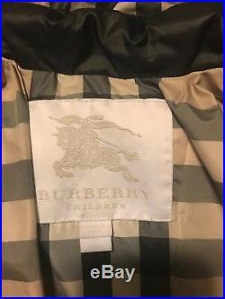 Burberry Children's coat- Black with detachable hood