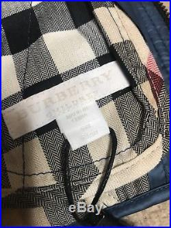 Burberry Ice Pink Check Kids Infant Baby Girl Coat Jacket 3m 6m Authentic Nwt