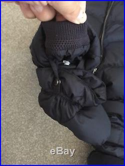 ab218d7ef Burberry Skylar Quilted Snowsuit Navy 12 Months