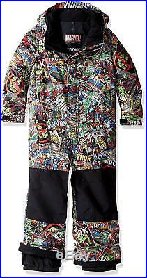 Burton Minishred Striker Marvel Avengers One Piece Snowsuit Boys 3T