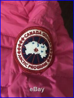 Canada Goose Baby Bunting Snowsuit Pink Sz 12-18 Months