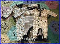 Collection of Burts Bees Baby Clothes, Organic Cotton, Boy or Girl, NB, 0-3,3-6