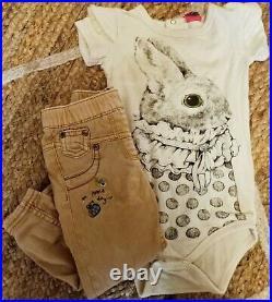 Designer Girls Bulk Bundle Size 1 Baby Toddler Clothes ROCK YOUR BABY LACEY LANE