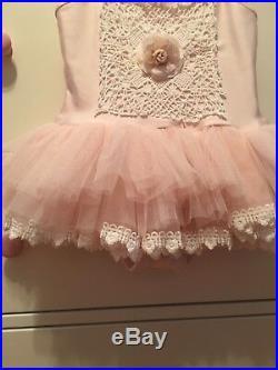 Dollcake Pink China Doll Tutu Toddler Girl Dress, Size 2, VGUC Boutique