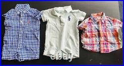 EUC 15 Piece Infant Boyss Ralph Lauren Polo Sz 3 Month 3mos Mixed Clothing Lot
