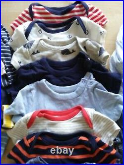 EUC Big Lot 6-12 Months Baby Boy Clothes Gap, Old Navy, Hanna Andersson, H&M