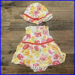 EUC Lot 144 Pieces Infant Baby Girl Clothes Size NB Newborn to 9 Months