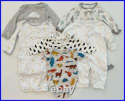 EUC Lot 88 Pieces Infant Baby Boy Clothes Size NB Newborn to 9 Months