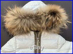 Fendi girls winter down coat 3Y