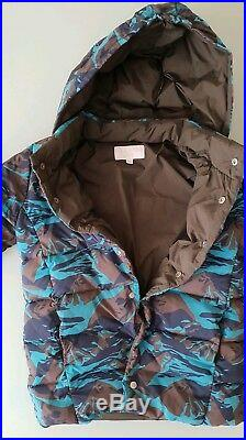 GUCCI goose down PUFFER JACKET designer CAMO military baby boy aged 2 years
