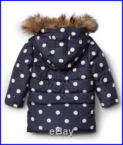 Gap Baby Girl Puffer Duffle Parka Toggle Coat Jacket Outerwear Size 4T 4 Years