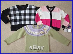 Girl Clothes Lot 4 4T 30pc Winter Tops Jeans Coat Carters Gymboree Hartstrings