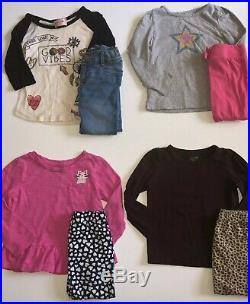 Girls 24 Month 2T Fall Winter Clothes Lot Jeans Shirt Top Leggings Gap Old Navy
