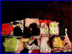 Girls Baby Clothes Lot (101 Pieces) Newborn 6 Months 3 Months- Assorted