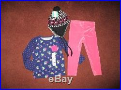 Girls Huge Size 4 4T FALL & WINTER Lot Clothes & Outfits NAME BRANDS NWT New