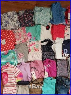 Girls Size 4T 5T 4/5 Lot Bundle Of Clothes Outfits Pajamas