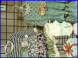 Girls boutique lot new ruffle outfit dress party wholesale bulk baby toddler