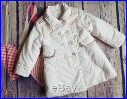 Gucci Baby Girls Designer Padded Pink Coat 12-18 Months VGC