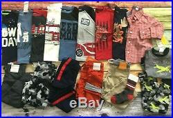 Gymboree 2T Boys Fall Winter Outfits LOT 17 Pc Shirts Pants Socks Pajamas NWT