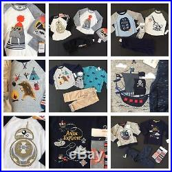 Gymboree Boys 2t Lot Outfits Winter Fall Nwt New Retail $336