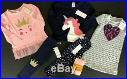Gymboree Girls Size 2t Lot Outfits Fall Winter Nwt $469