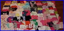 HUGE 120pc Baby Girl newborn 0-3 months clothes lot sleepers OUTFITS+