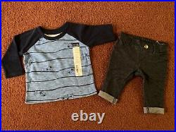 HUGE 20 Piece Baby Boys Size 0-3-6 Months Clothing Lot of Christmas Clothes