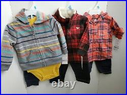 HUGE 20 Piece Carter's Baby Boys 6 Months Winter Clothing/Clothes Lot $250 MSRP