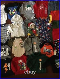 HUGE 21 Piece Baby Boys Size 6 9 12 Months Clothing Lot of Name Brand Clothes