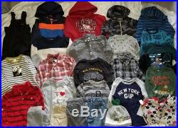 HUGE 26 Pc Lot of BOYS CLOTHES Fall / Winter Sz 4T 4 4-5 Great Brand Names