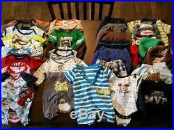 HUGE 74 Pc Lot Newborn and 0-3, 3-6 Months Baby Boy Clothing