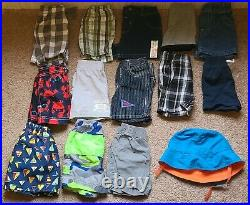 HUGE Carters Baby Boy 12 Month Lot Of Fall Winter Clothes Outfits Pants Pajamas