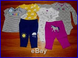 HUGE NEWBORN CARTER'S BABY GIRL CLOTHES LOT NEW Infant Outfit Sets Size 0-3 Mo
