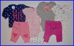 HUGE NEWBORN CARTER'S BABY GIRL CLOTHES LOT NEW WithTAGS Outfit Sets Layette NWT