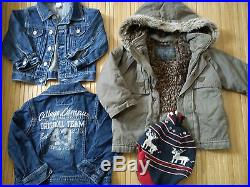 HUGE WINTER SUMMER 30x BUNDLE BABY BOY clothes 12/18 MTHS 18/24MTHS (4.8)