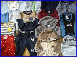 HUGE WINTER SUMMER 57x BUNDLE BABY BOY clothes 0/3/6 MTHS (5.5)