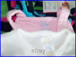 Huge 37+ Fall Winter Girls Baby Clothes Lot 0-3 mo Childrens Place Carters GAP