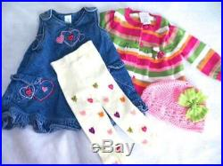 Huge 37+ pc Fall Winter Girls Baby Clothes 0-3 mo Childrens Place Carters GAP
