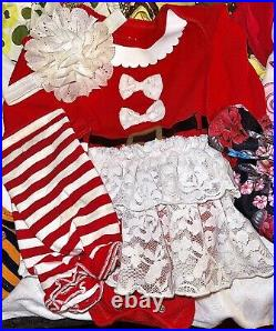 Huge 40+ Pc Baby Girl Clothing Lot 12 Months Name Brands Outfits Mixed seasons