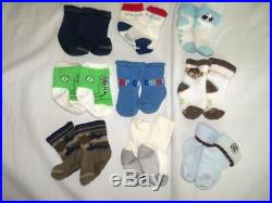 Huge 40 pc Fall & Winter Boys Baby Clothes 0-6 mo Lot Childrens Place Carters ON