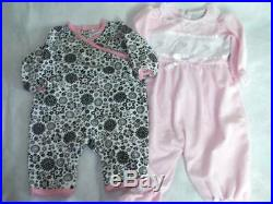 Huge 40 pc Fall & Winter Girls Baby Clothes 3-6 mo Carters Gymboree GAP C Klein