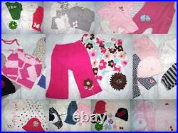 Huge 43 pc Fall Winter Girls Baby Clothes 3-6 mo Childrens Place Carters GAP
