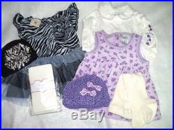 Huge 43 pc Fall Winter Girls Baby Clothes Lot 3-6 mo Childrens Place Gymboree