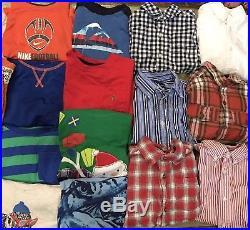 Huge Boys 38 Pic Fall Winter Lot Nanebrand Jeans Shirts Gap RL ON Gymboree 4T 5T