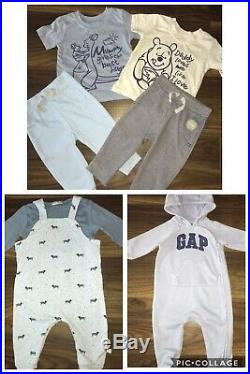 Huge Bundle Of Baby Boys 3-6 Autumn Winter Xmas clothes All You Need Next Etc
