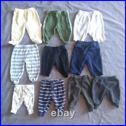Huge Lot 56 pcs Baby Boy newborn to 3 Months Clothes Shirts Pants jacket pajamas