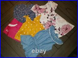 Huge Lot Of Baby Girl Clothes Size 0-6mths