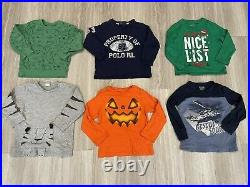 Huge Lot of Baby Boy Fall, Winter Clothes Size 2T, 50 pieces, shoes size 7 and 8