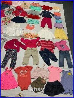 Huge baby girl clothing lot! 6-9m, 12m. Excellnt cond. Wardrobe! Polo Ralph Lauren